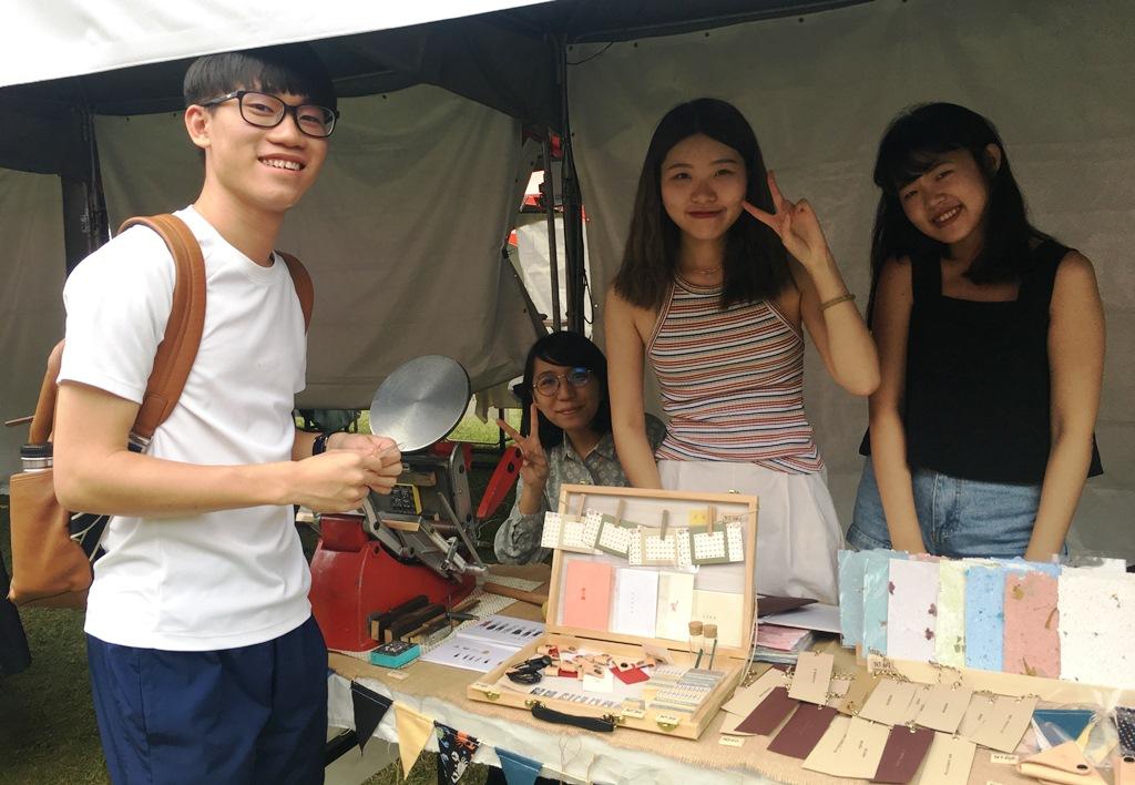 通稿照片02-在中原大學校內就可以聽音樂、逛市集、體驗手作.jpg