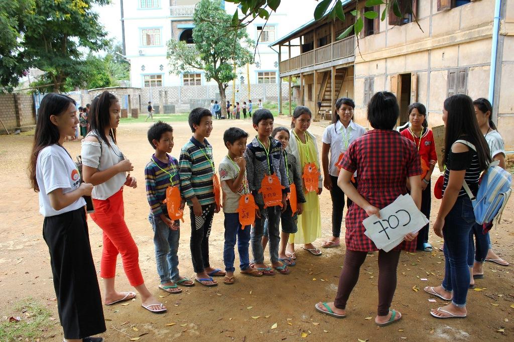 通稿照片07-中原大學緬甸服務隊攜手黑猛龍中學生於傈僳族孤兒院舉辦一日營.JPG