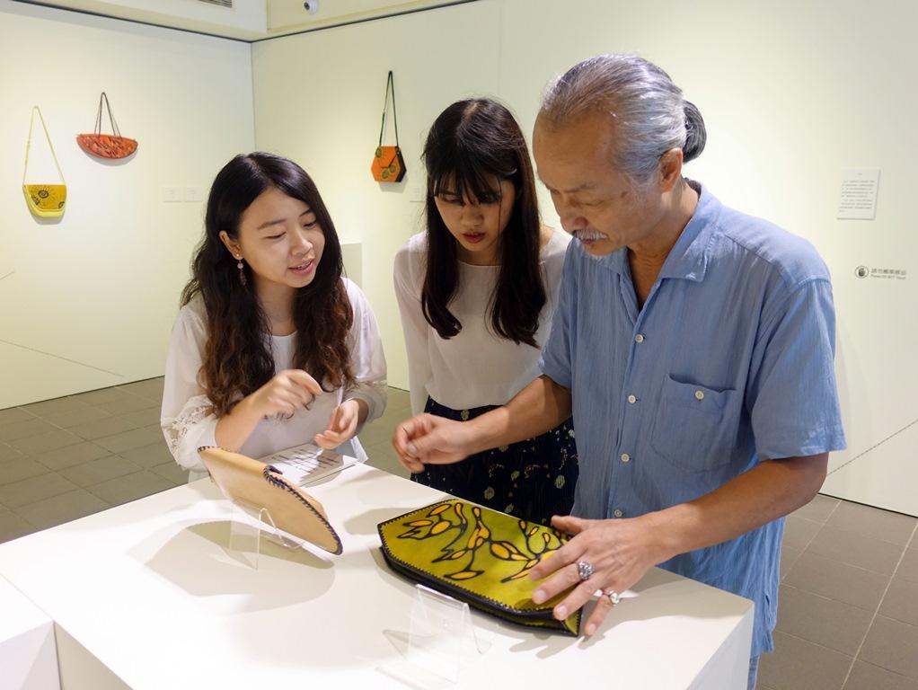 通稿照片03-為了延續作品的生命力中原大學將邀請劉孝謙老師進行講座與工作坊.JPG
