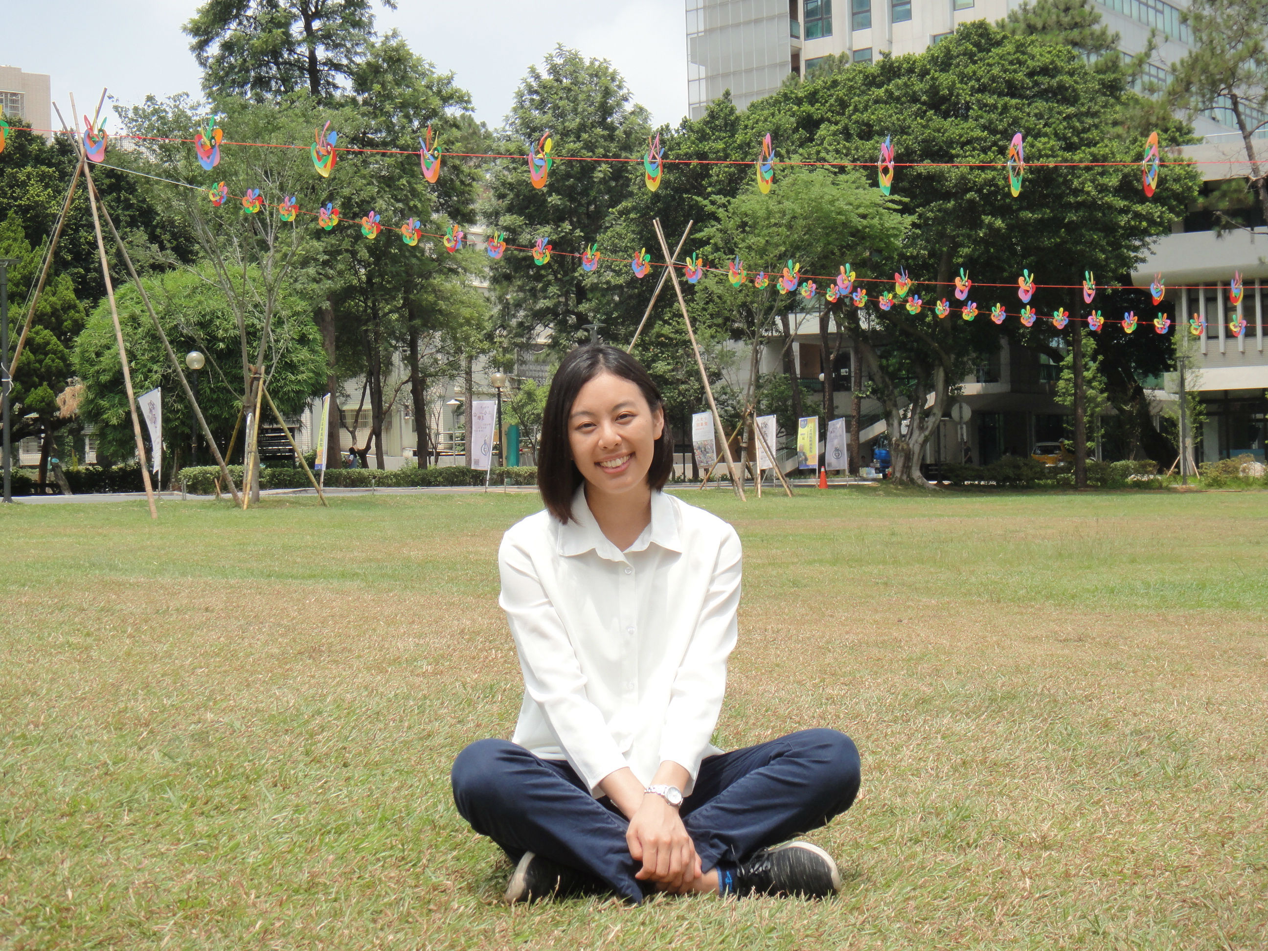 澤木直美喜歡中原大學「全人教育」的特色.JPG
