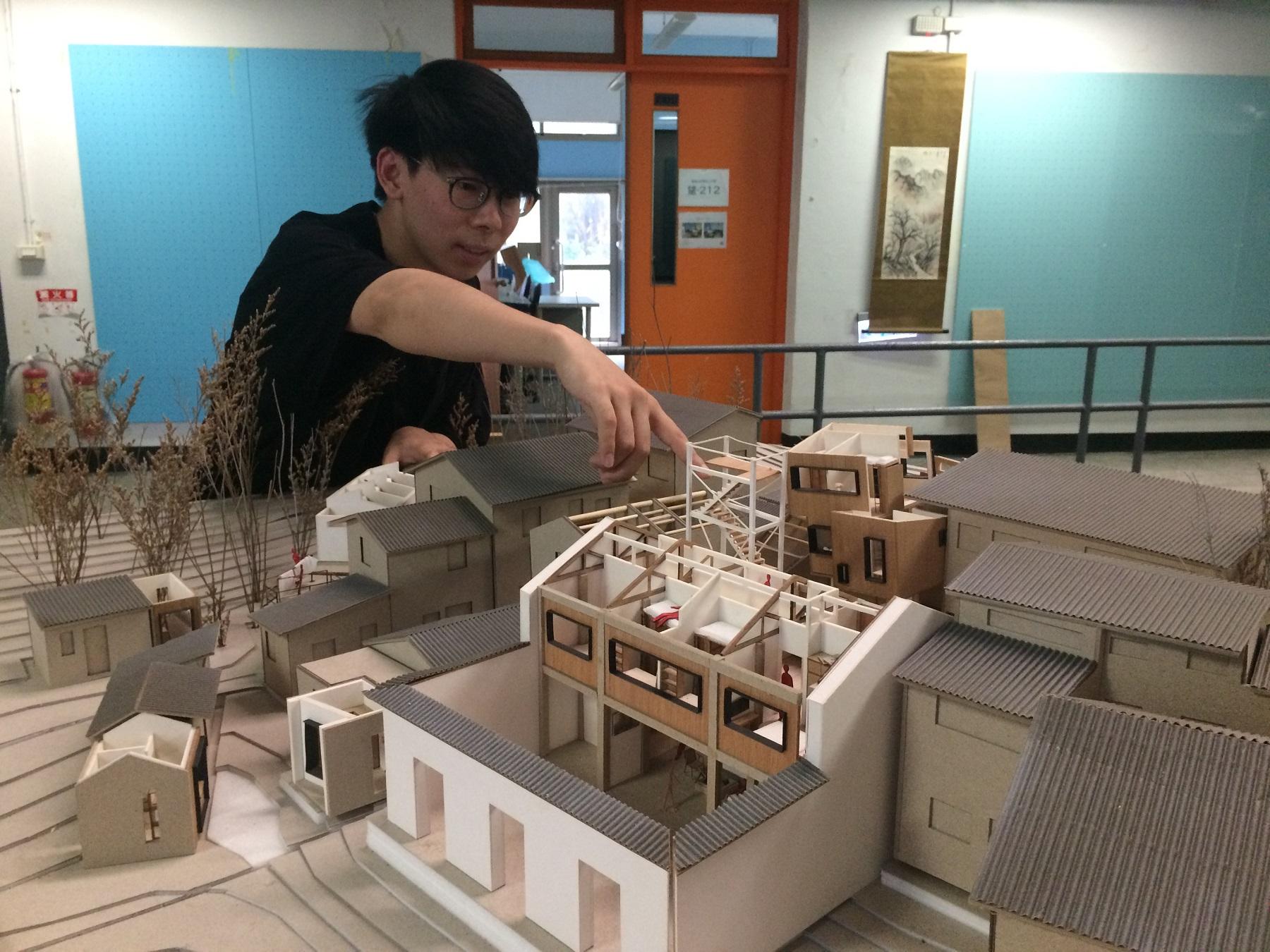通稿照片-來自中國杭州張益誠的作品「城市共生(城中村)」,希望透過都市的微更新,發揮空間改造的最大價值。.jpg