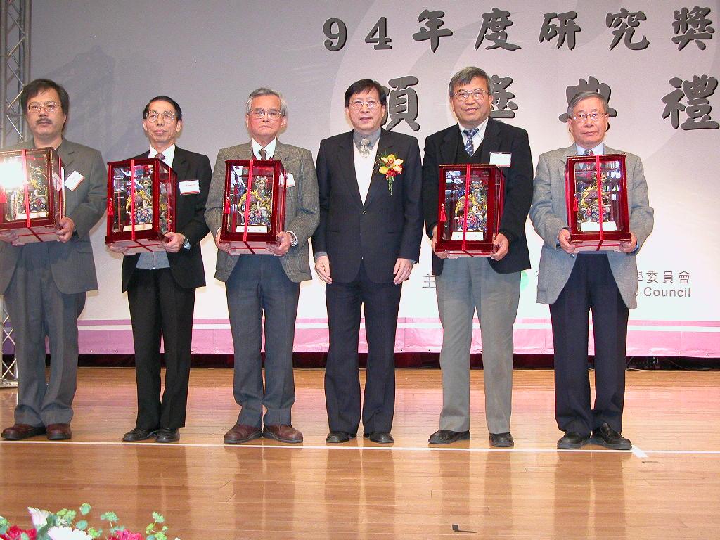 化工系賴君義老師榮獲國科會傑出特約研究員獎