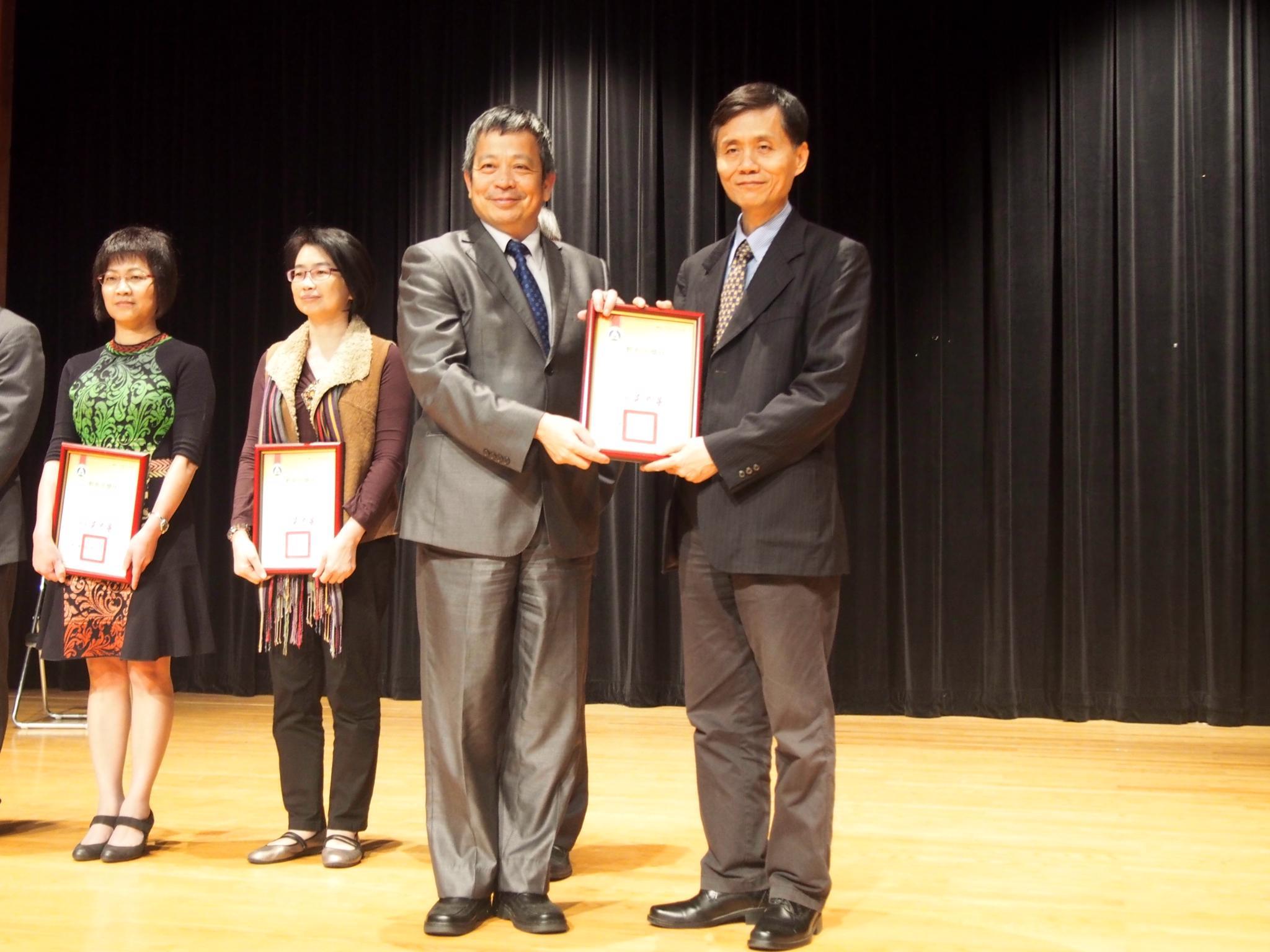 教育部表揚境外學生輔導工作 本校榮獲績優學校、績優人員