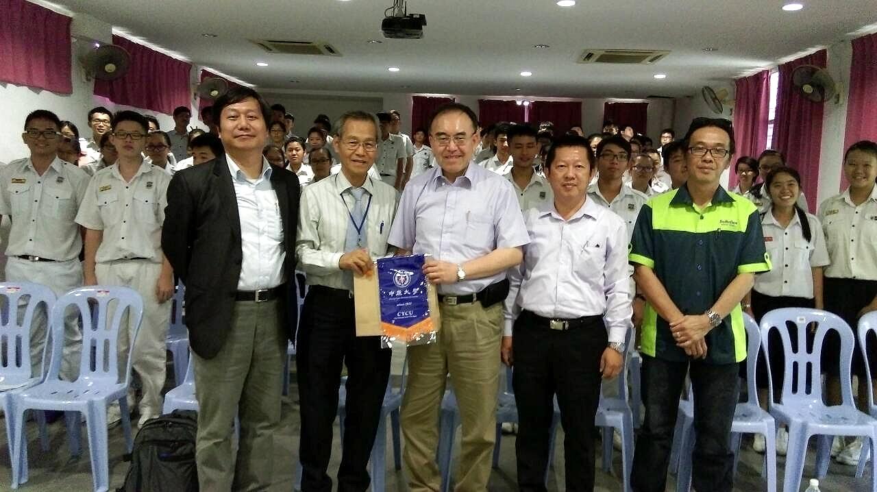 國際暨兩岸教育處赴馬來西亞偏鄉 拓展海外招生新市場