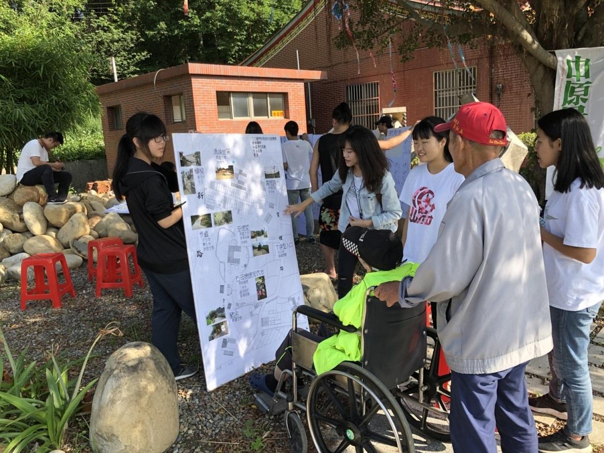 為社區民眾美化家園 中原大學「大樹教室」在八德霄裡上課囉!