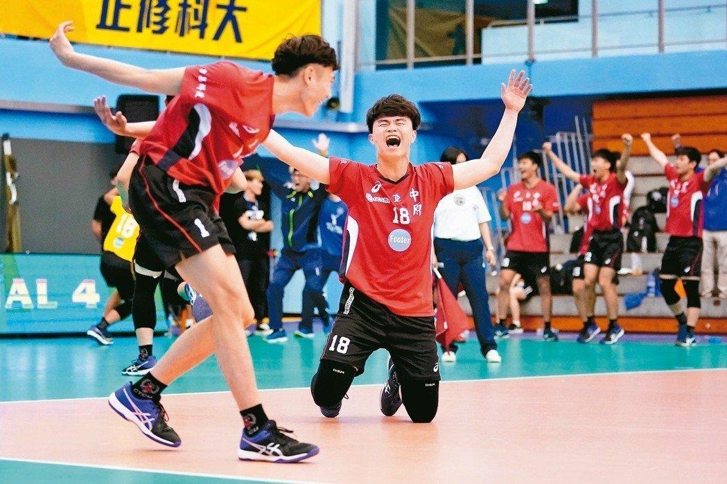 【聯合報】UVL/中原大學爆發 搶下冠軍戰門票