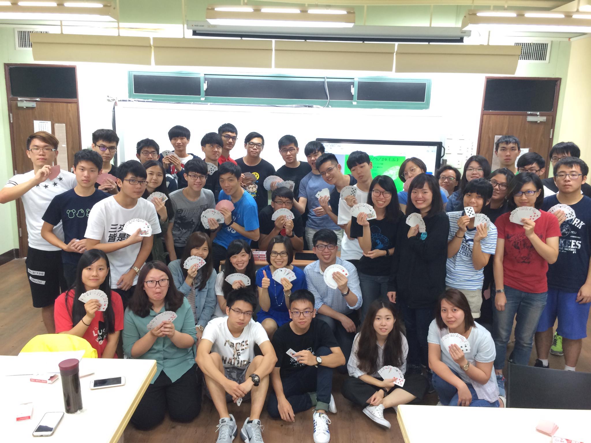 中原大學創意魔「數」工作坊   為學生打造一堂魔幻數學課