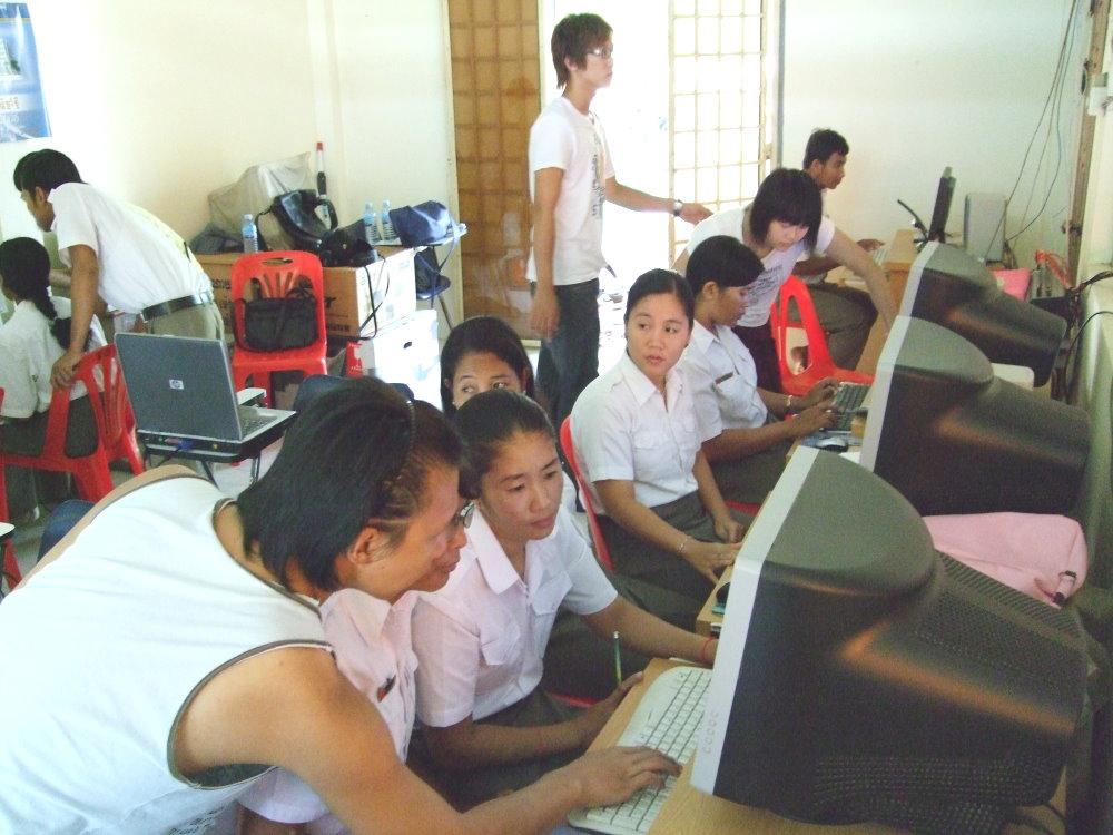 「柬」起e個「原」夢的機會 中原召集志工再赴柬埔寨從事數位關懷