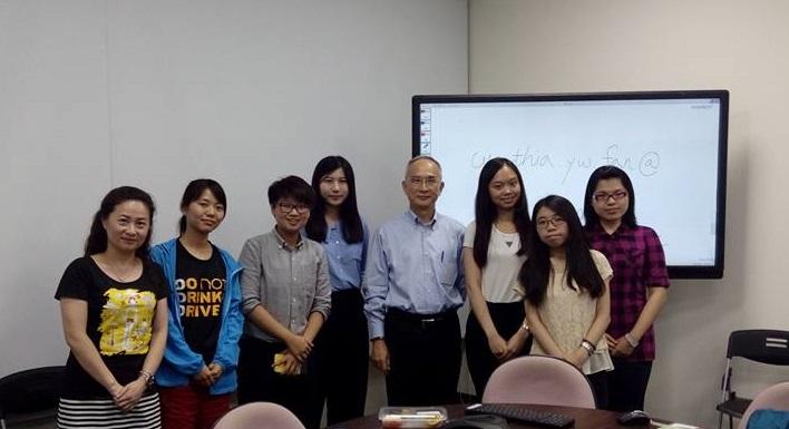 全人標竿獎同學與呂芳銘學長相見歡 暢談人生理念