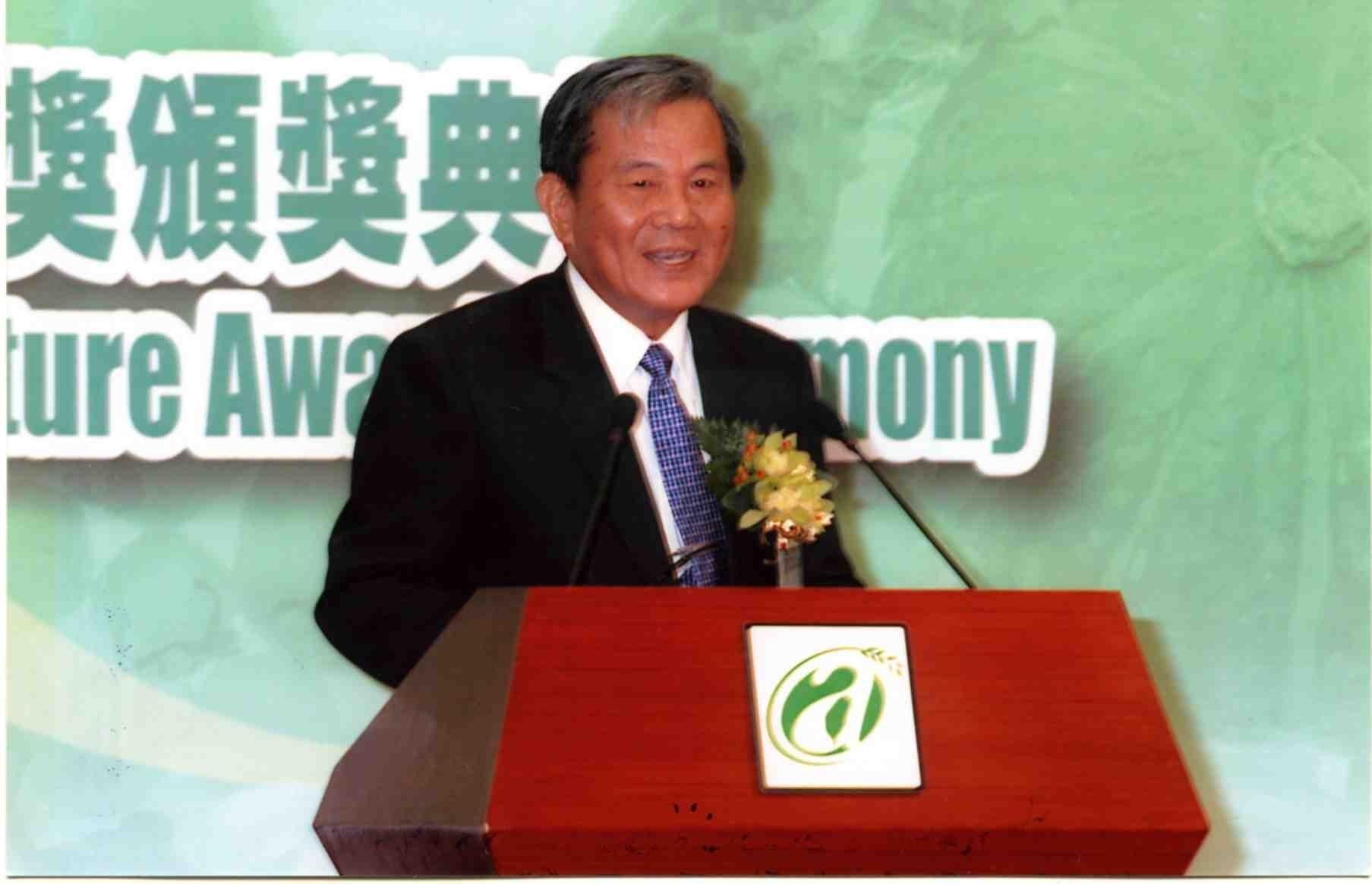土木校友 徐金錫 榮獲總統農業服務卓越獎-堅守崗位領導者之標竿