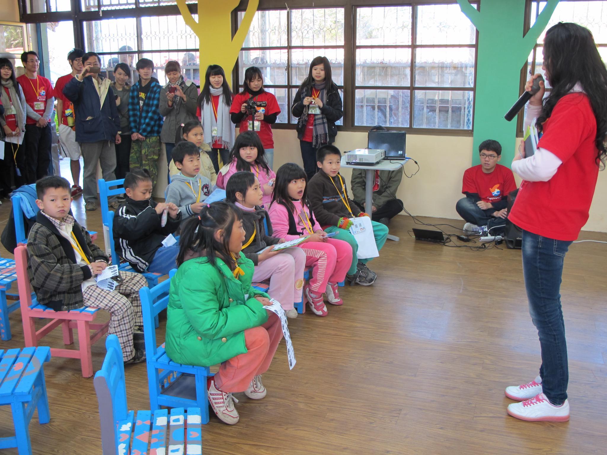 散播希望的種子 大學生為原住民孩童打造「故事堡」