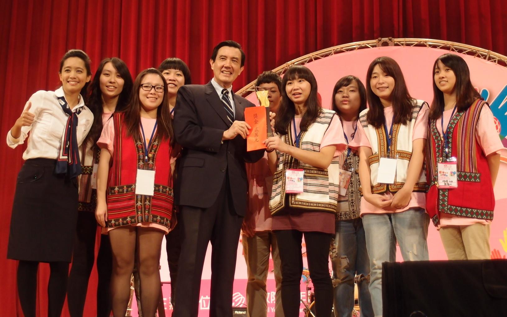 狂賀!區域和平志工團績優團隊全國競賽 中原囊括五項榮譽肯定