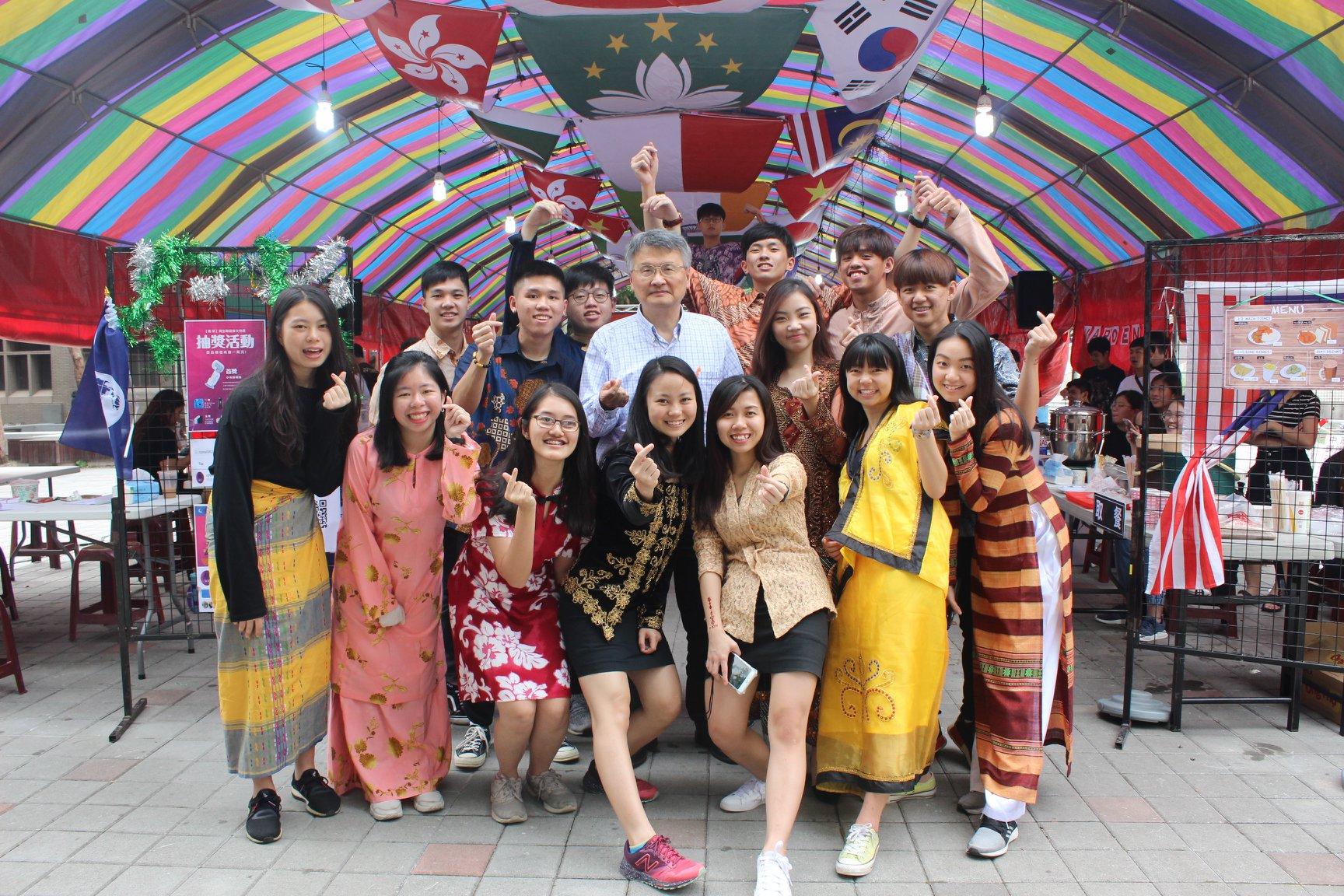 在中原大學環遊世界!境外生文化週帶你體驗異國風情