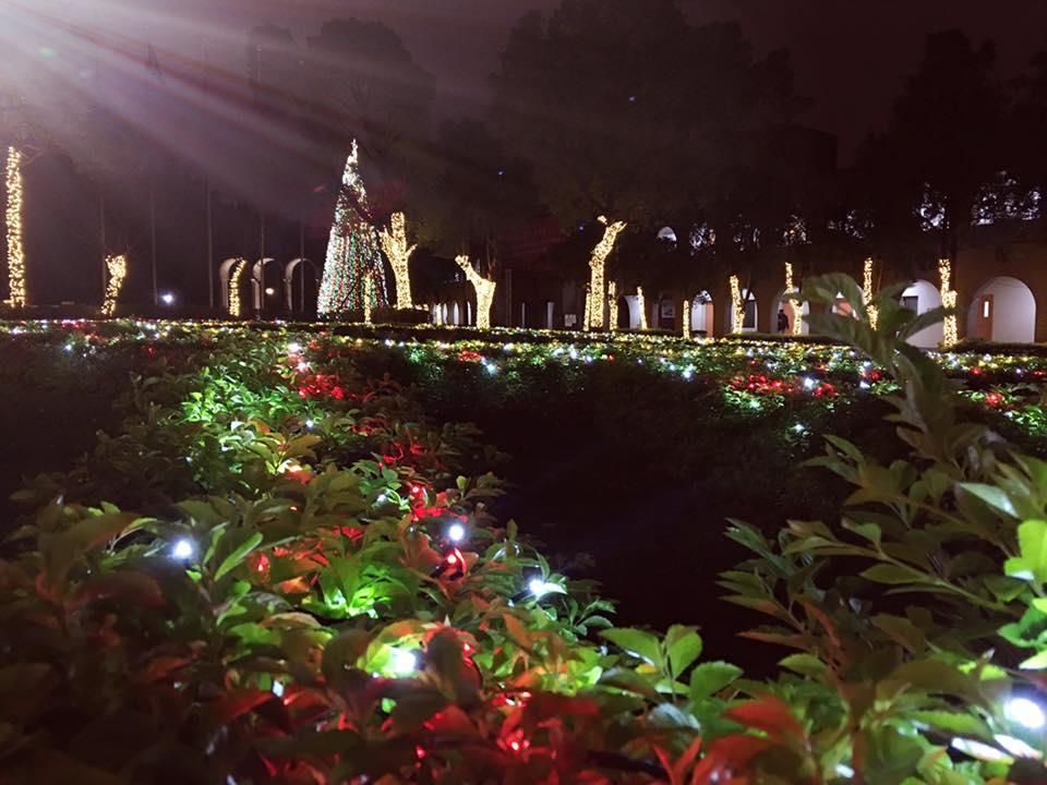 中原聖誕點燈 為桃園點亮希望、傳遞祝福