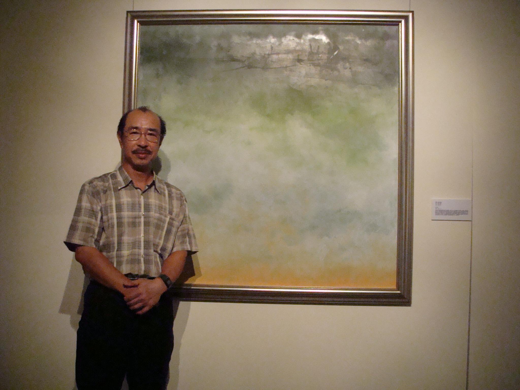 是繪畫也是思維過程 中原大學藝術中心展出林俊興「時間畫」