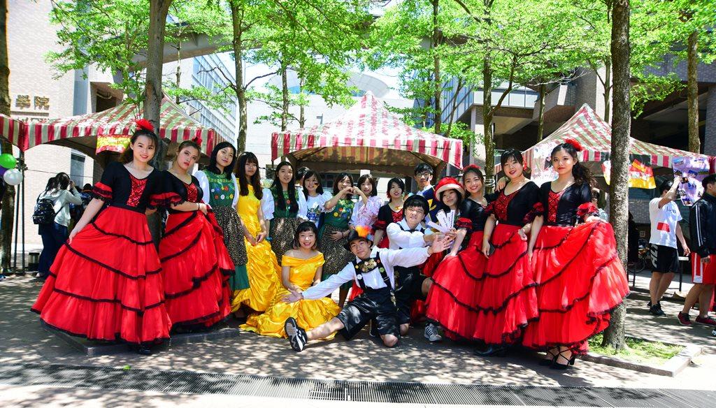 中原大學四國文化節熱鬧精彩  華麗呈現異國文化之美