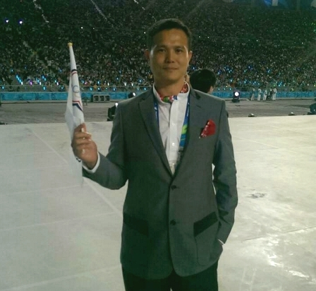 帶領中華男排打進世界盃 體育室主任陳克舟為中原爭光