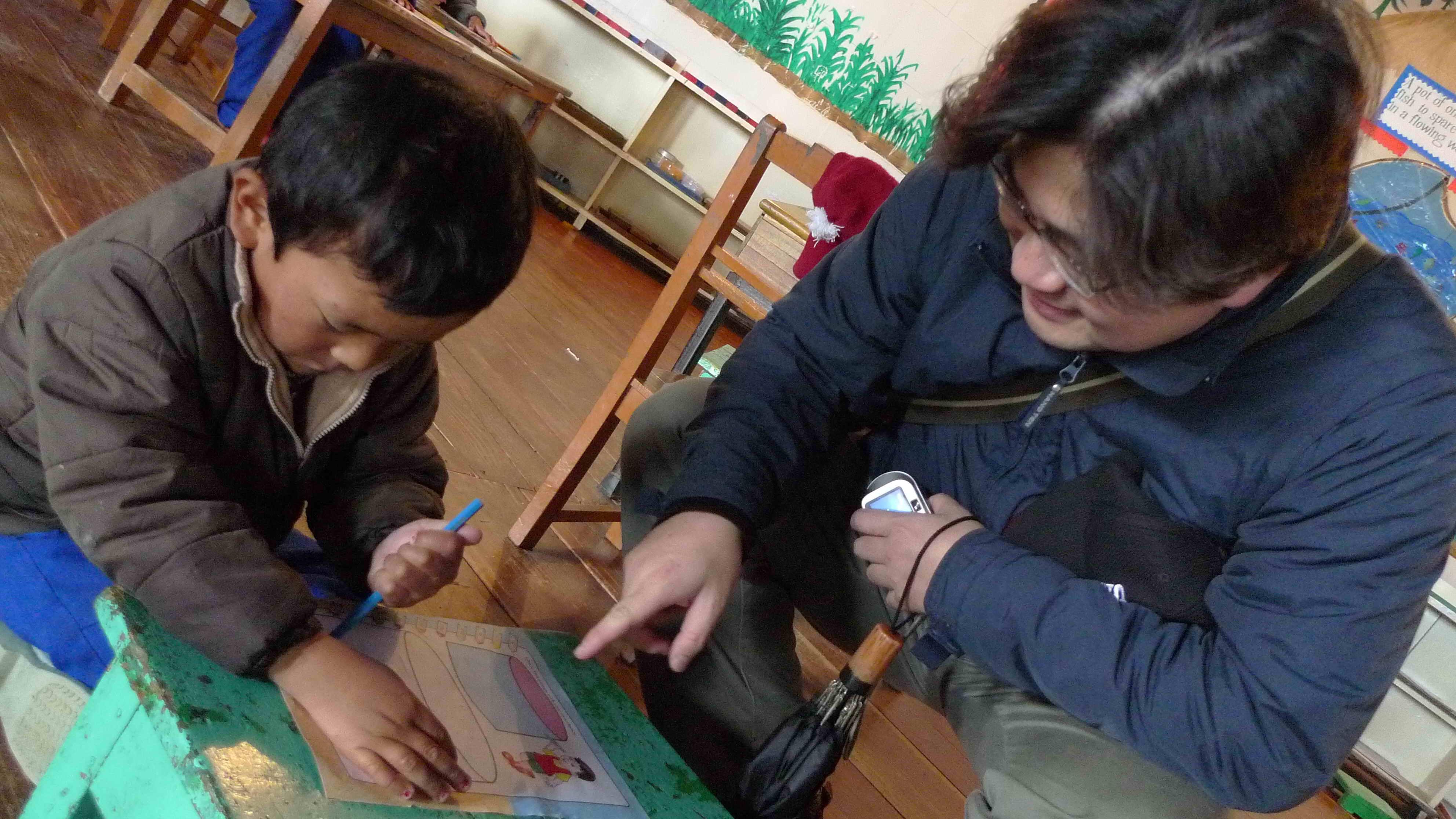 中原大學北印度流亡藏人服務探勘計畫 讓服務學習的彩虹橋直達喜馬拉雅雪山之下