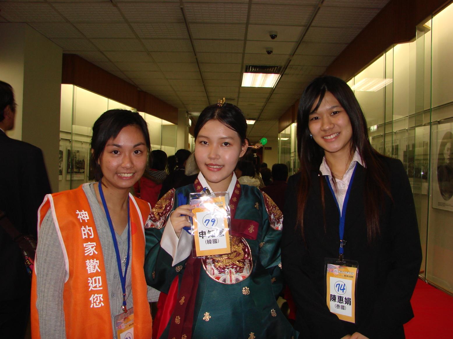 外籍學生華語文演講比賽 本校國際學生吳玉燕榮獲評審獎