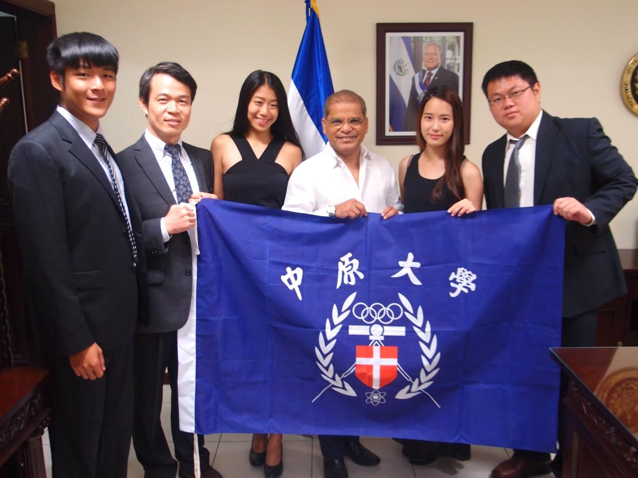 中原大學 第一個進入薩爾瓦多的台灣學生志工團隊!