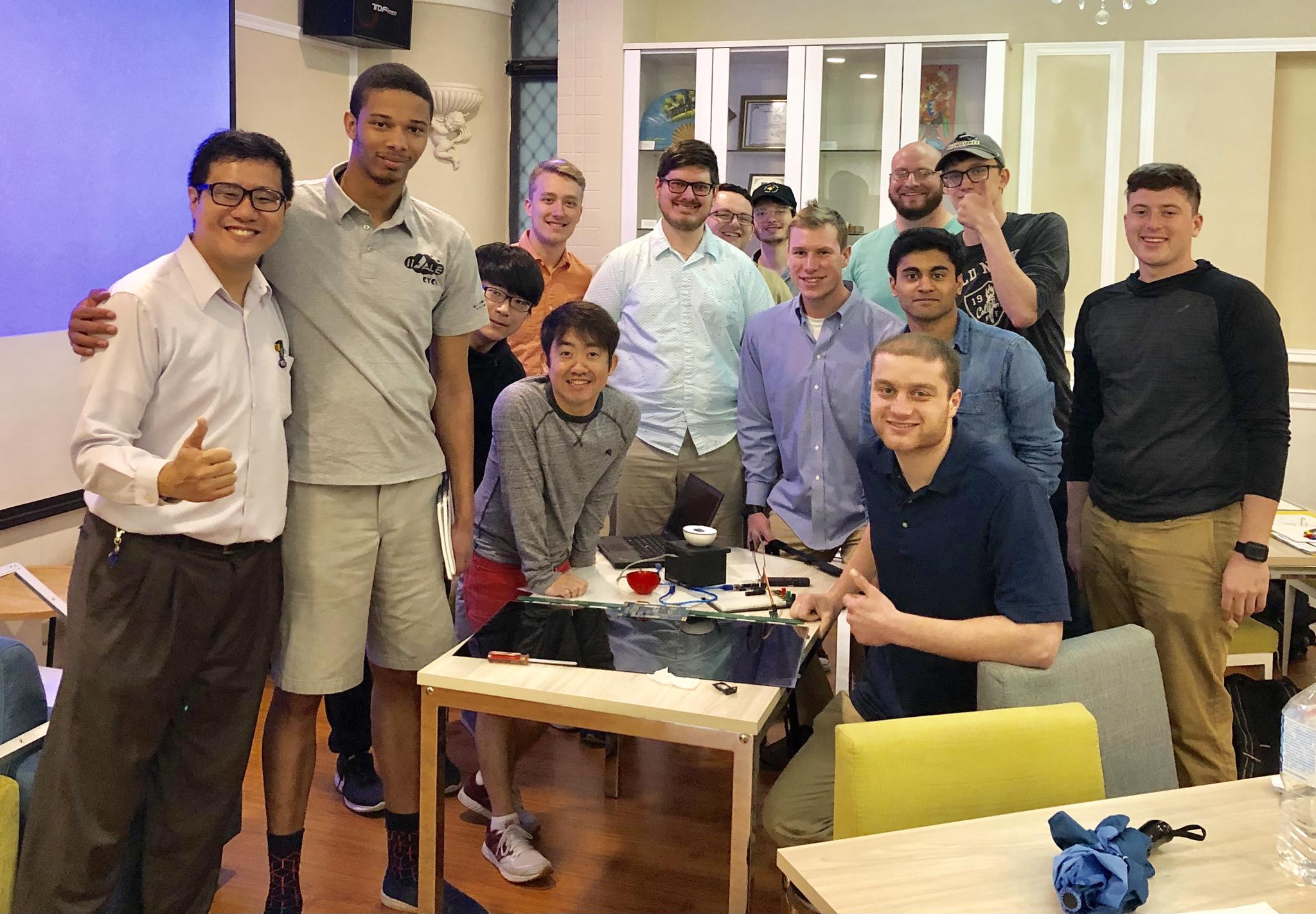 中原大學為鴻海培育國際人才 美國UWM大學交換生抵台跨國學習