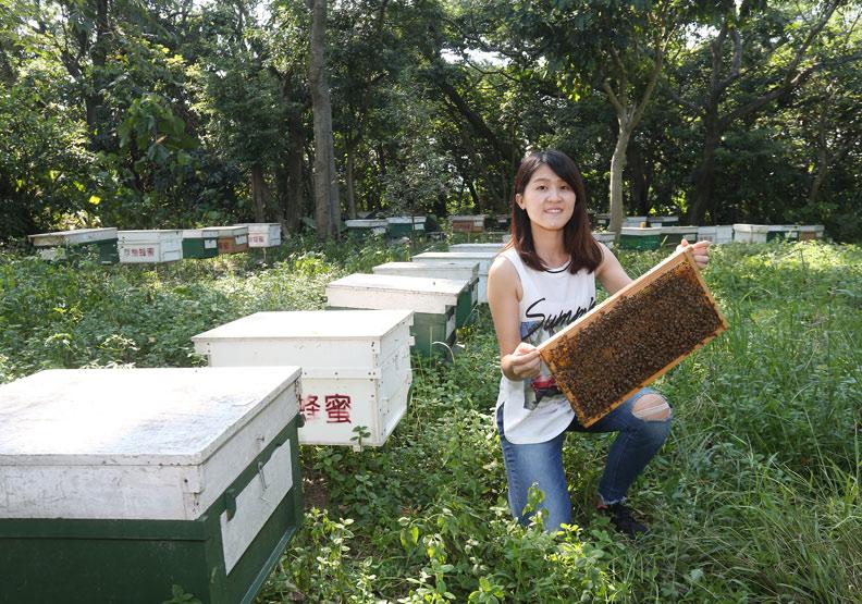 【遠見雜誌】《50大黃金青農》蜂農29歲:李姿瑩〉拚食安 養出頭等龍眼蜜
