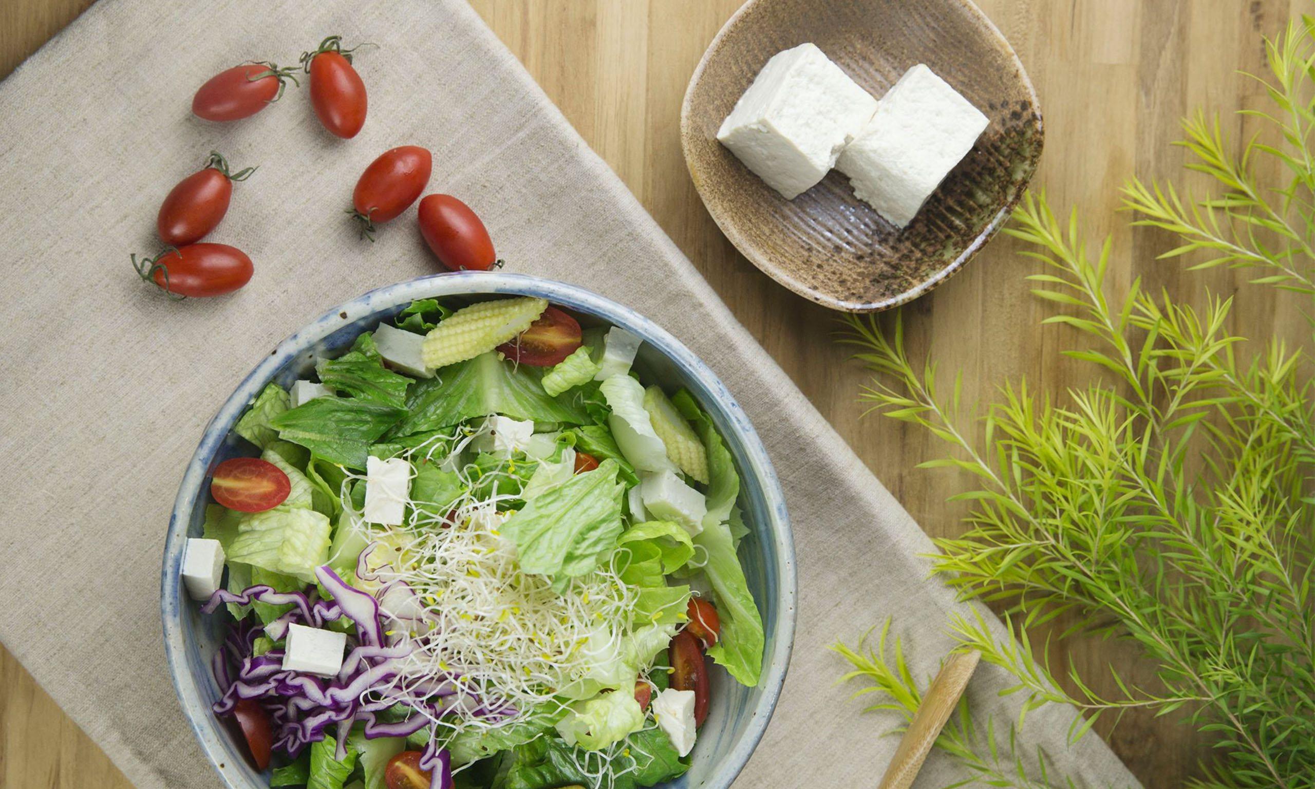 國產手工豆腐沙拉