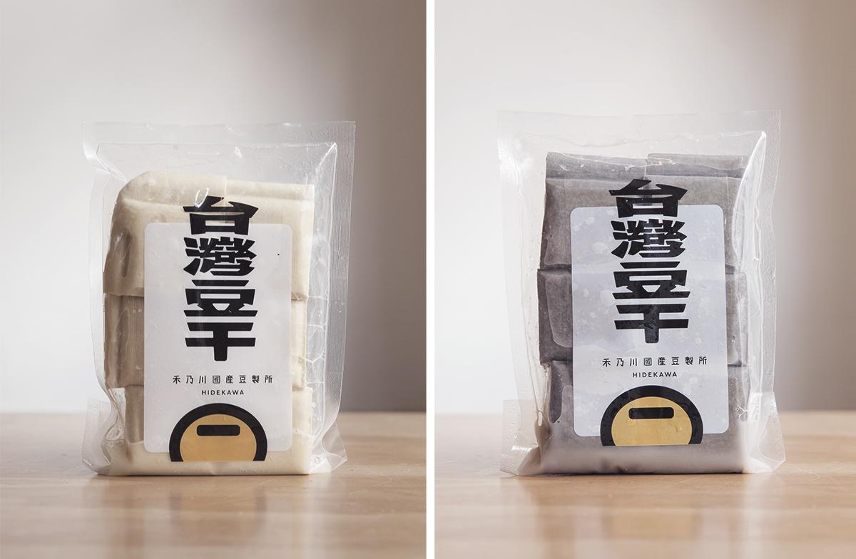 鹽滷豆腐、豆干 - 非基改無農藥栽種 | 禾乃川國產豆製所 | 改變生命的豆漿店