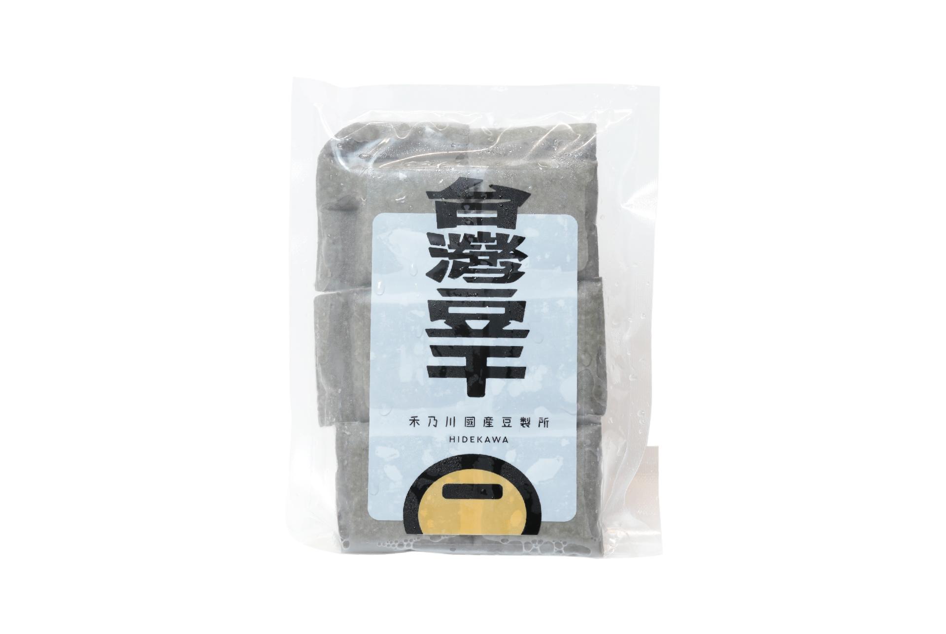鹽鹵黑豆干 - 扎實中帶有韌性   禾乃川國產豆製所   改變生命的豆漿店