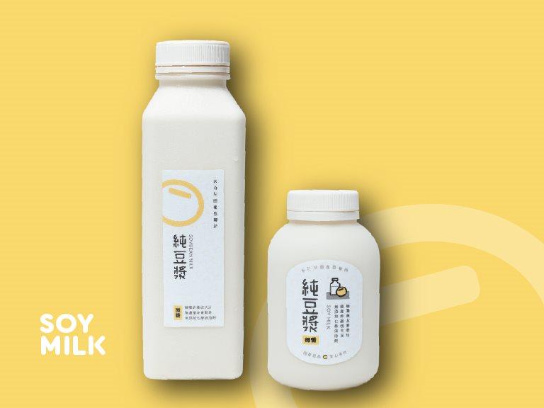 純濃黃豆漿 - 嚴選台灣在地小農