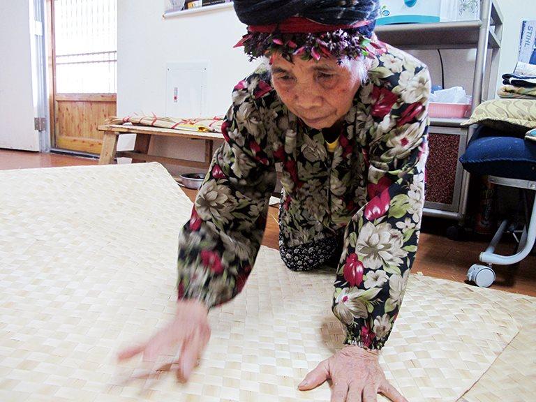 部落的傳統工藝,月桃編織 / Sudepau 許丙妹
