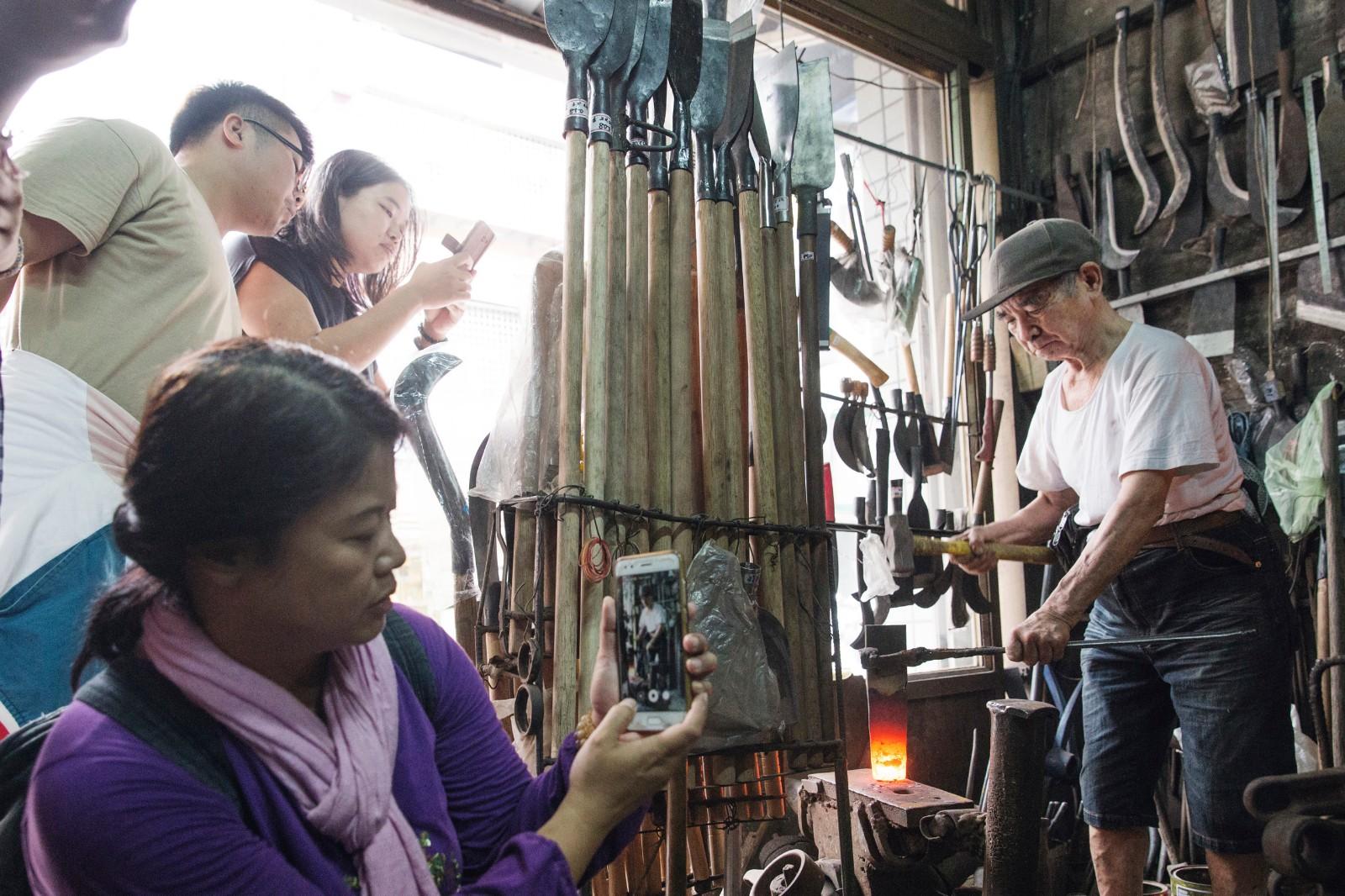 一日職人DIY體驗 - 三峽打鐵職人 | 甘樂文創 | 甘之如飴,樂在其中