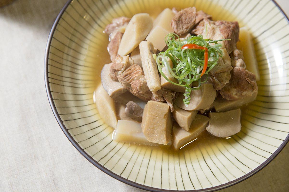 Miso-flavor Pork Stew