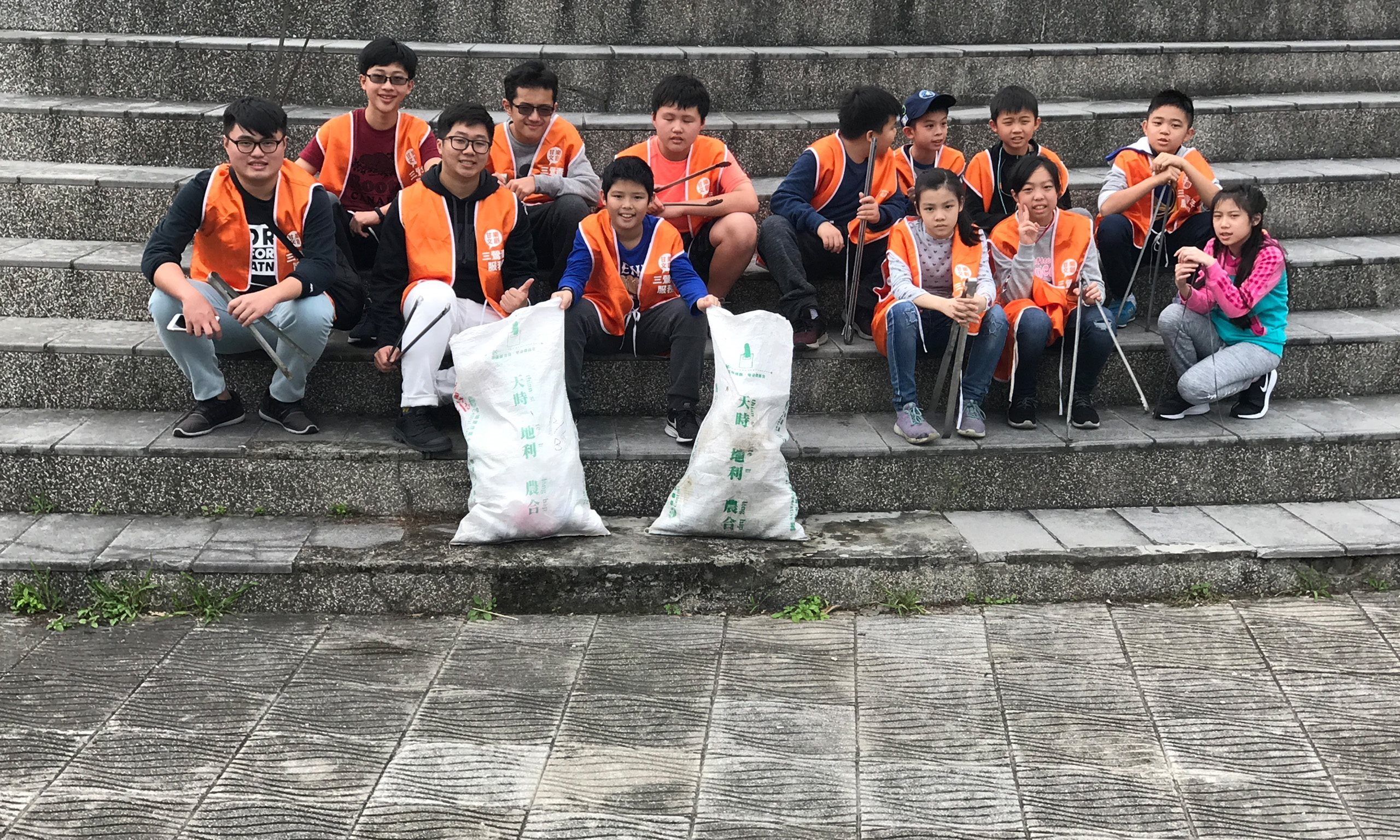 2019/01/19 River Clean-up Operation