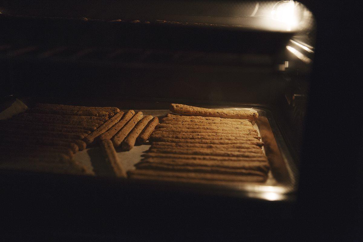 Granola Bars with Bean Fibers
