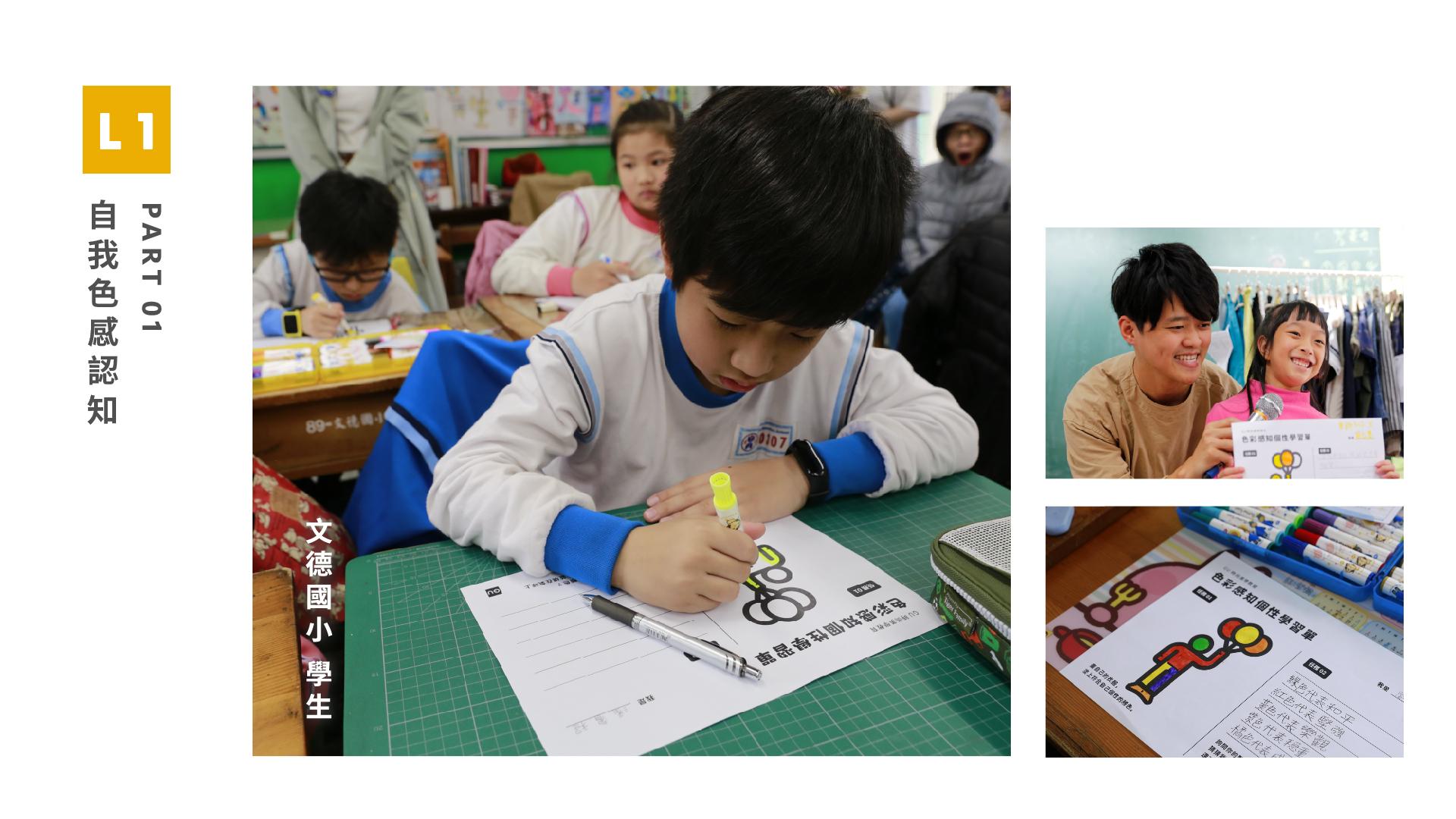 GU X 甘樂文創 Lesson 1:生活色彩風格穿搭教學班    課程設計方向以服飾穿搭作為基礎,初步發想朝向發展色彩學、布料辨識、穿搭禮儀等相關知識連結國小生活課程。 | 甘樂文創 | 甘之如飴,樂在其中