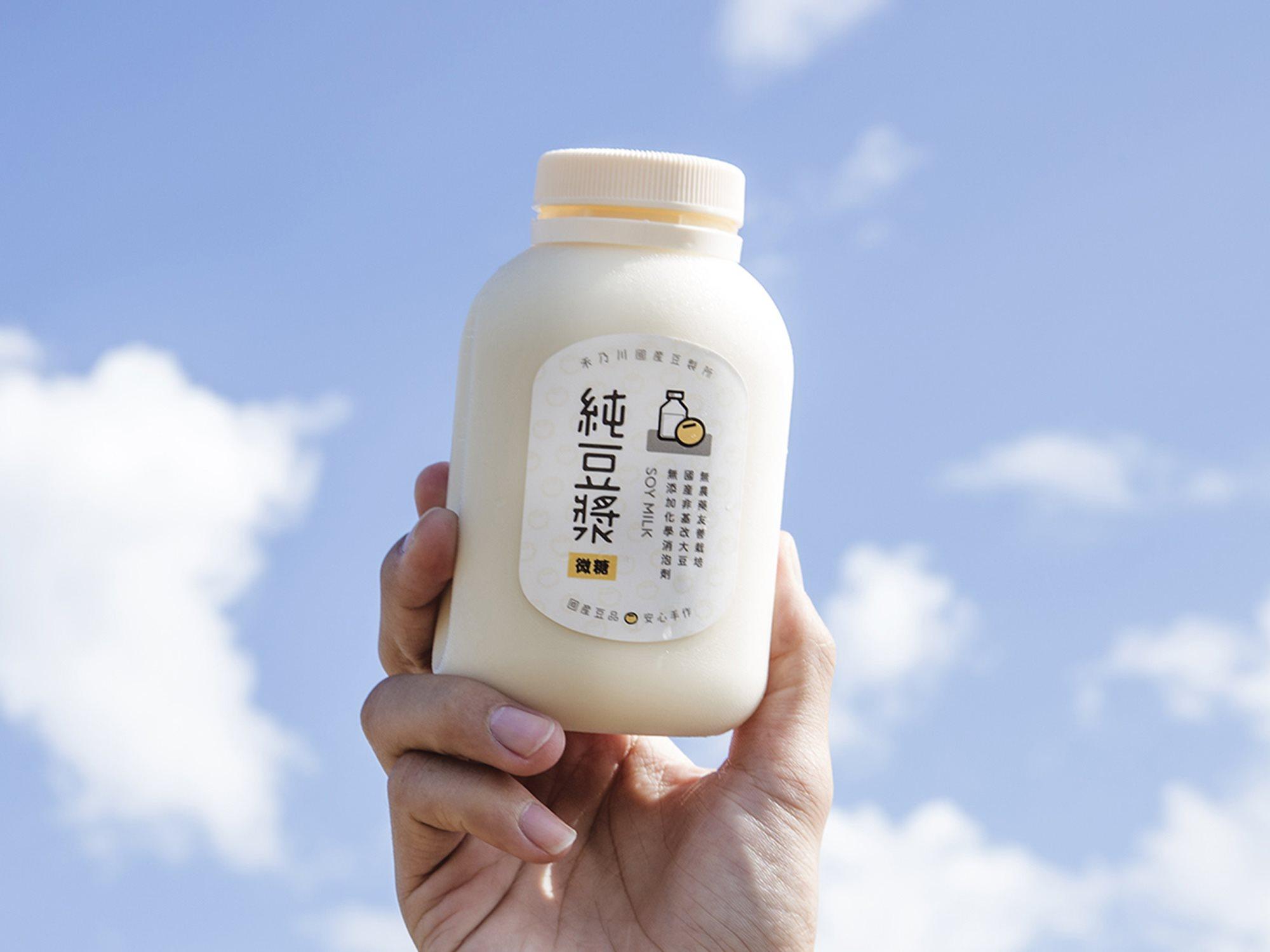 100%國產非基改純濃豆漿