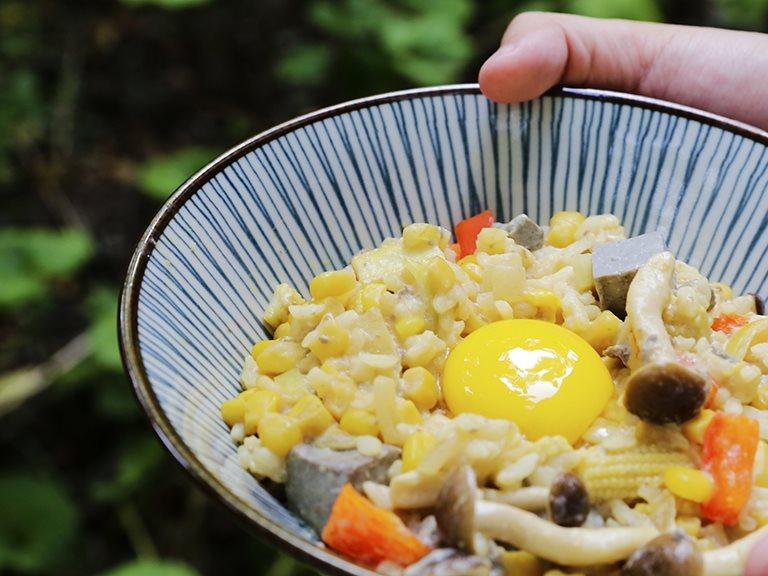 蔬菜豆腐豆漿燉飯,自己動手做的健康料理|禾乃川小廚房