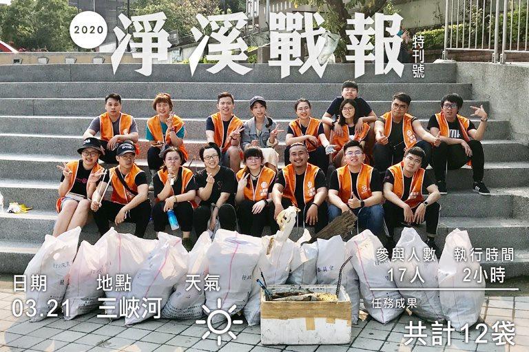 2020/03/21 台北市扶青團聯合淨溪活動