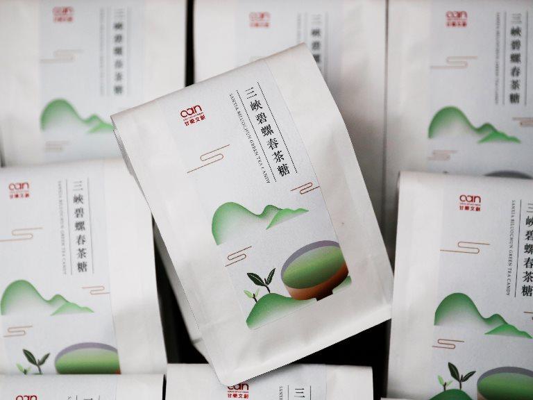 甘樂文創茶糖 包裝設計
