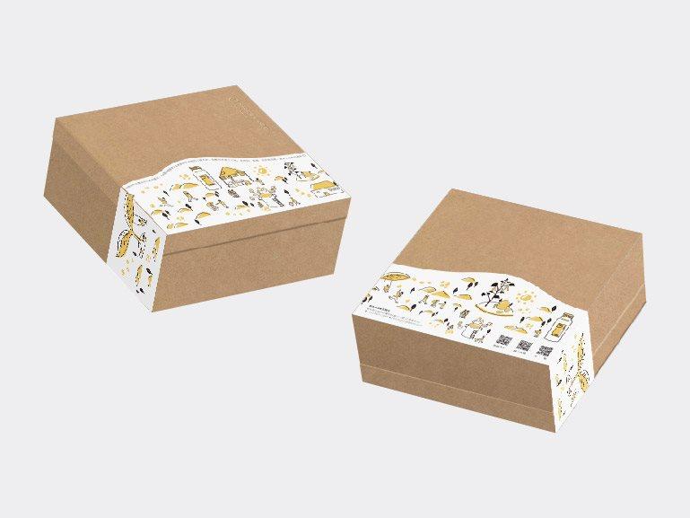 「禾乃川」 禮盒