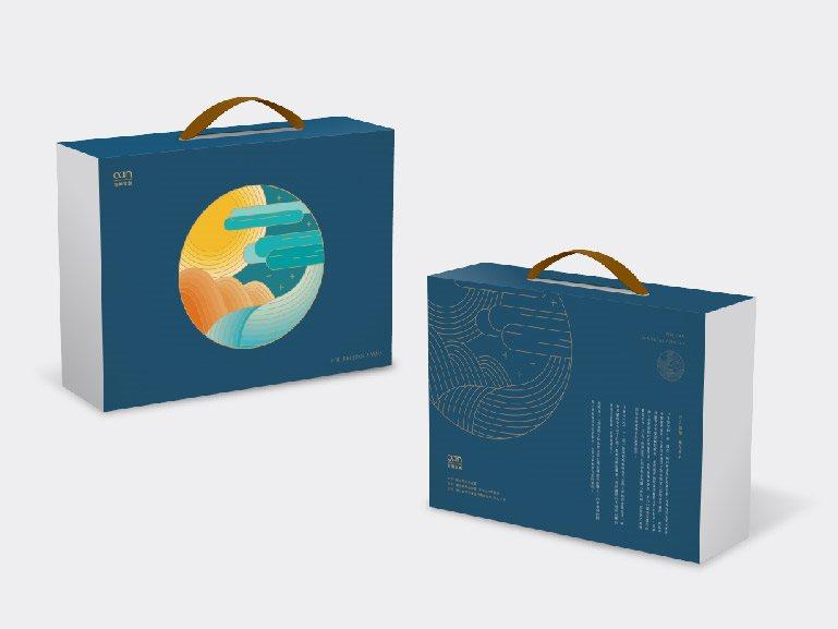 「圓滿」 健康茶點禮盒 包裝設計