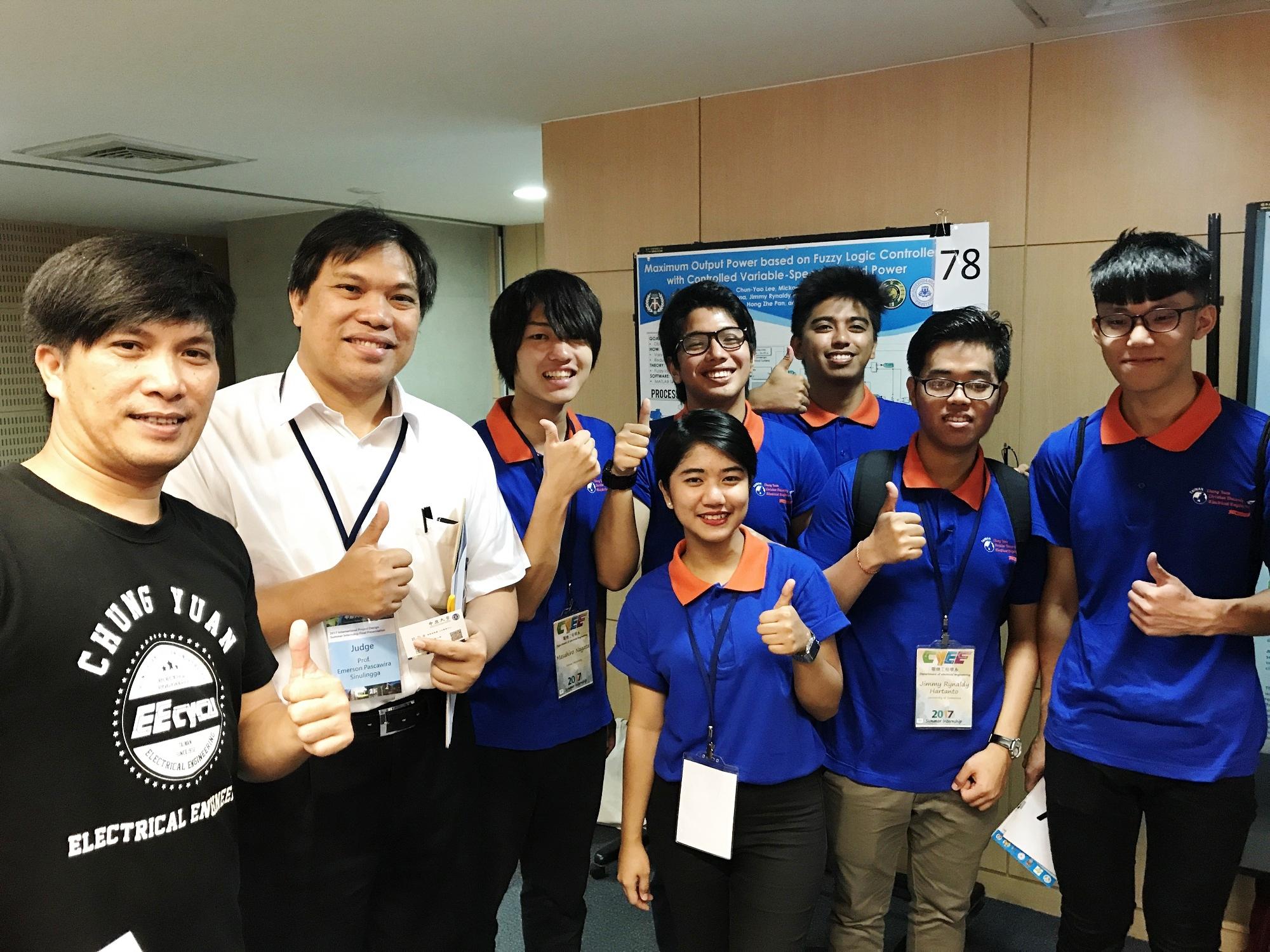 通稿照片5-印尼North_Sumatra大學教授Emerson_Sinulingga博士指出,國際性競賽提供更多印尼學生多一個出國進修學習的好管道.JPG