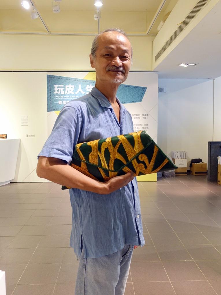 通稿照片05-劉孝謙是一位具有強烈個人風格的藝術家,從數學走向藝術創作的人生也充滿傳奇性.JPG