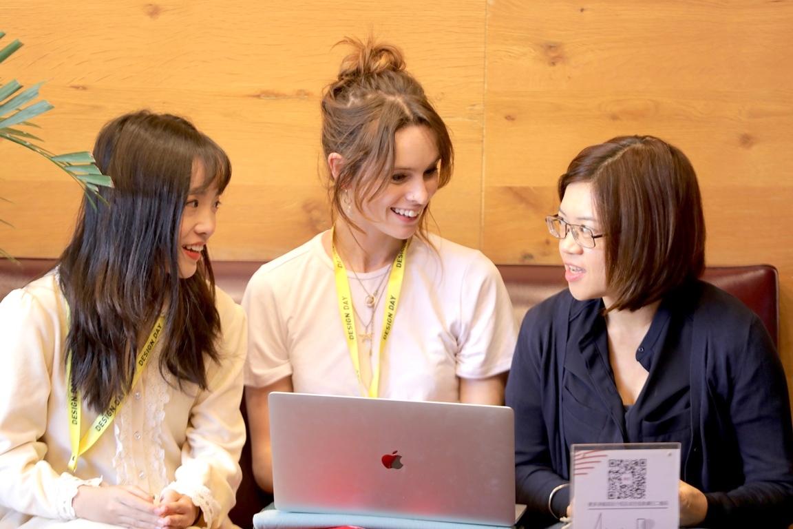 設計馬拉松有來自澳洲、韓國、中國、台灣27所學校158名師生參與,以跨國合作體驗國際化的設計專題.JPG