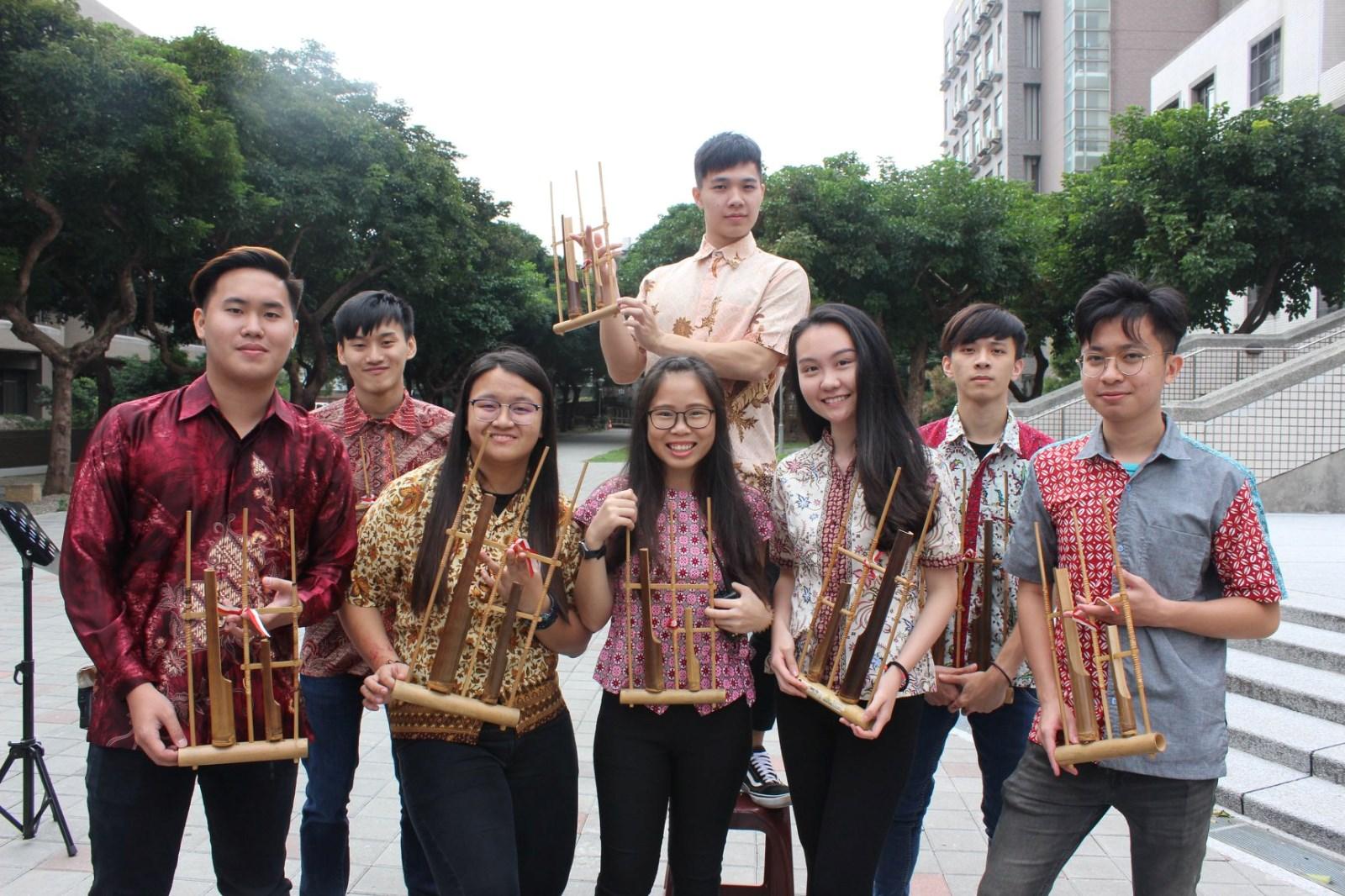 中原大學印尼學生用傳統樂器【Angklung】帶來精采演出.jpg