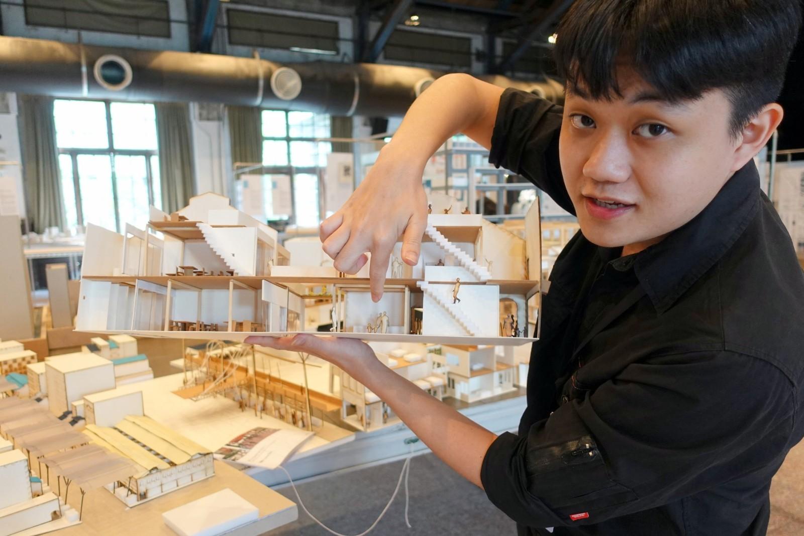 來自馬來西亞的的羅銘凱要讓吉隆坡茨廠街重新賦予老街區新生命.JPG