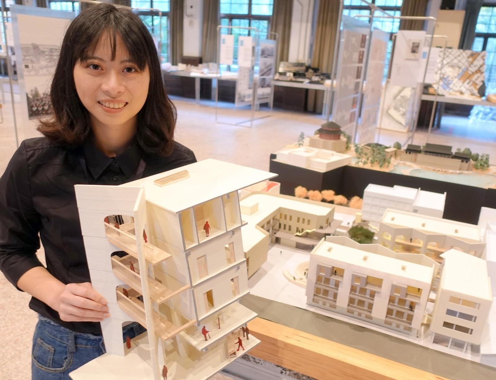 家住中壢的陳珍順以「失智,不失所」為主題,希望以建築專業讓失智症照護社區化、自立化.JPG