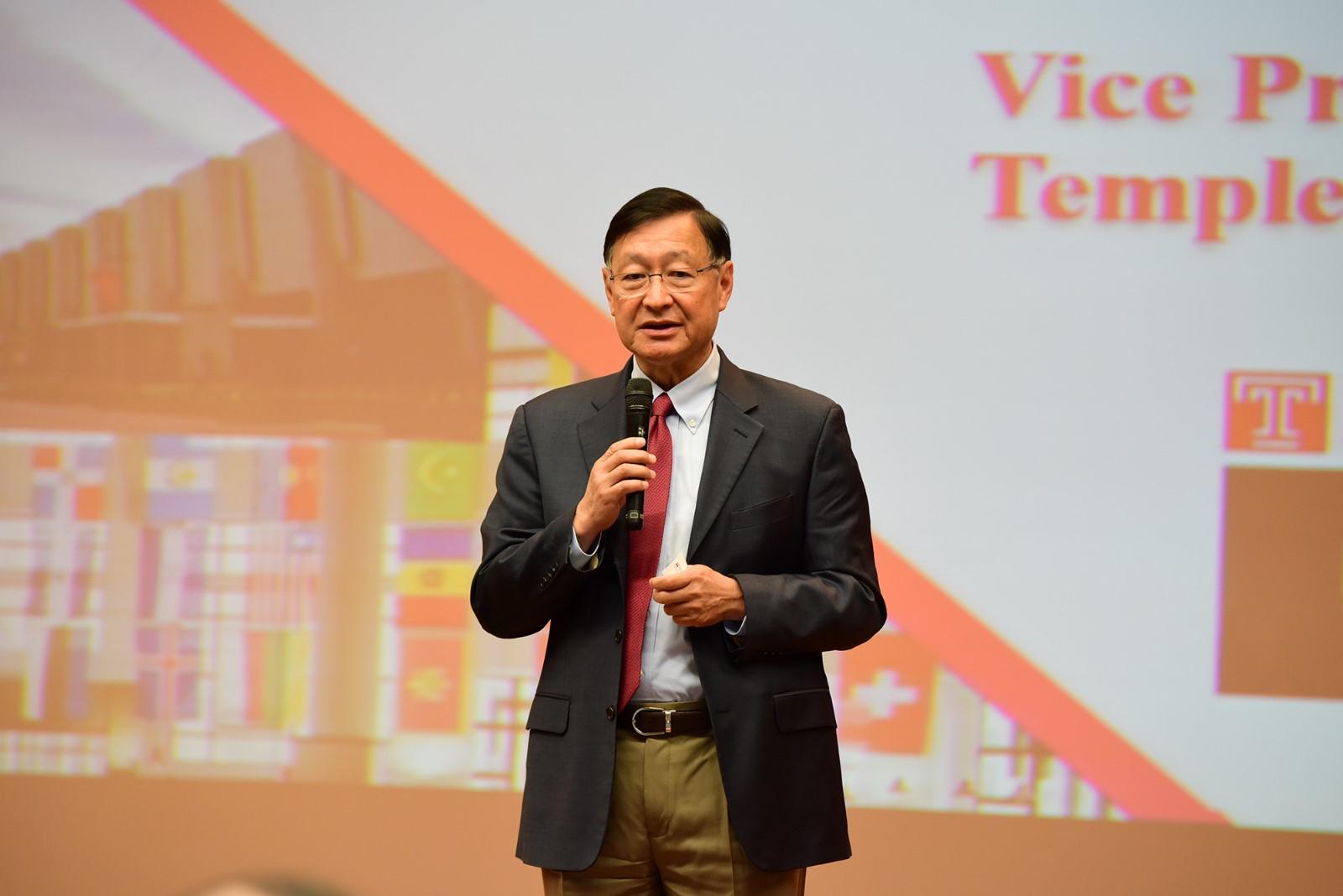 美國天普大學(Temple University)戴海龍副校長.JPG