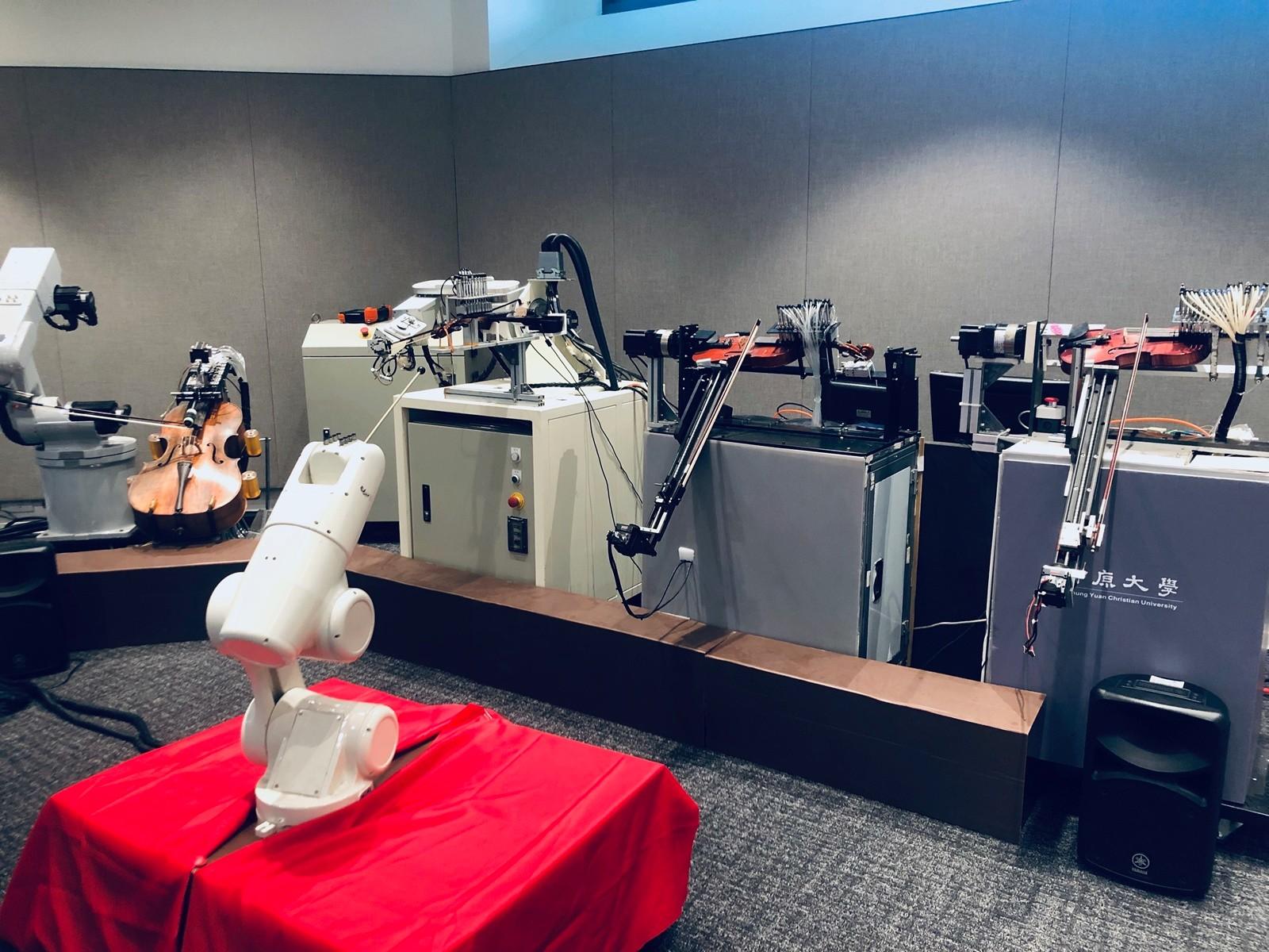 知行領航館一樓「林清機器人實驗室」.JPG